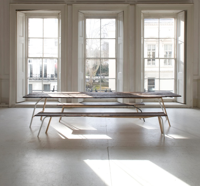 V&A table and benches